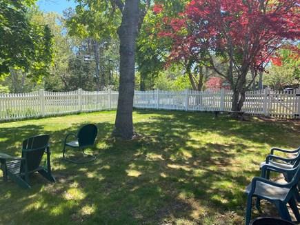 West Dennis Cape Cod vacation rental - Shady, fenced side yard