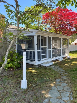 West Dennis Cape Cod vacation rental - Screened porch