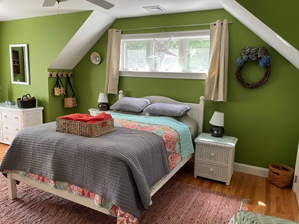 Eastham, Campground  Cape Cod vacation rental - Bedroom with Full Bed and Trundle Twins