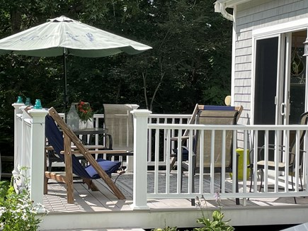 Eastham, Campground  Cape Cod vacation rental - Deck