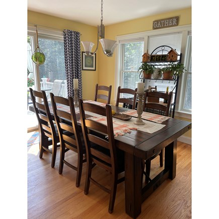 Eastham, Campground  Cape Cod vacation rental - Dining Area