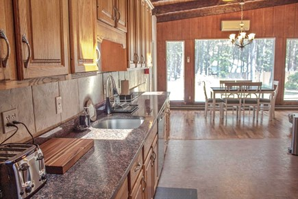 Wellfleet Cape Cod vacation rental - Kitchen and Dining View