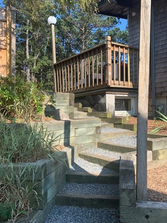 Wellfleet Cape Cod vacation rental - Staircase Leading to Apartment