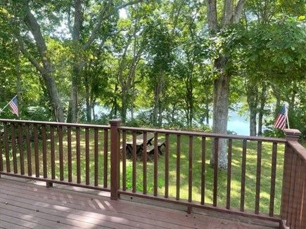 North Falmouth/Old SIlver Beac Cape Cod vacation rental - Pond view from the deck