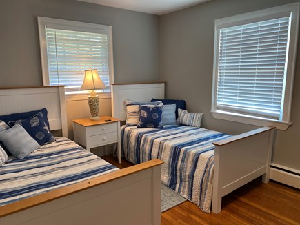 Hyannis, Kalmus Beach  Cape Cod vacation rental - Third bedroom with 2 double beds