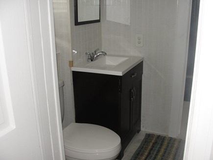Hyannis, Kalmus Beach  Cape Cod vacation rental - Second bathroom, above the finished basement with 4th daybed