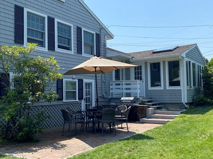 Hyannis, Kalmus Beach  Cape Cod vacation rental - Large backyard, great for entertaining!