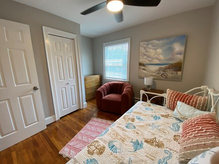 Hyannis, Kalmus Beach  Cape Cod vacation rental - Bedroom One with day bed