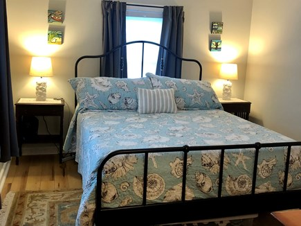 Eastham Cape Cod vacation rental - Master with queen memory foam mattress & room darkening curtains