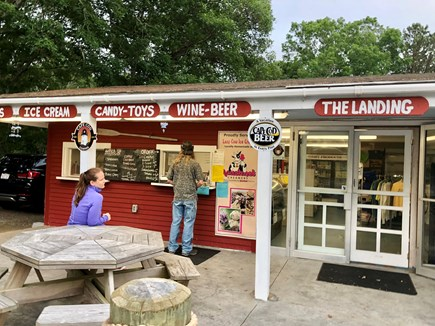 Eastham Cape Cod vacation rental - The Landing a couple doors down with beer, wine and ice cream