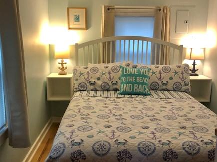 Eastham Cape Cod vacation rental - Second queen with gel mattress & room darkening curtains