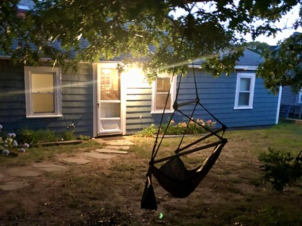 Eastham Cape Cod vacation rental - Listen to the crickets while swinging on the skychairs