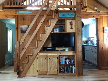 Eastham Cape Cod vacation rental - Custom built-ins with cable TV, Netflix, Amazon & high speed wifi