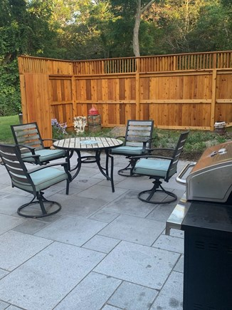 Truro Cape Cod vacation rental - Outside Patio and Grill