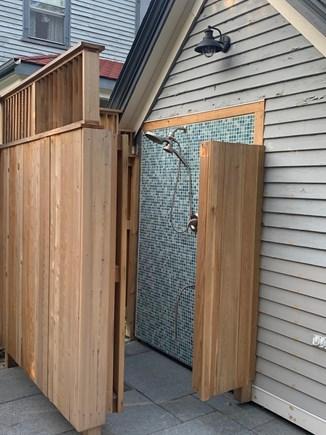 Truro Cape Cod vacation rental - Outside Shower