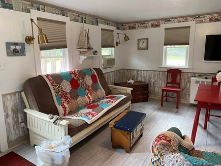 Chatham Cape Cod vacation rental - Comfortable, open living area with futon