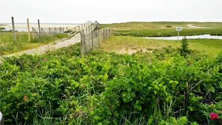 Chatham Cape Cod vacation rental - Boardwalk to the beach