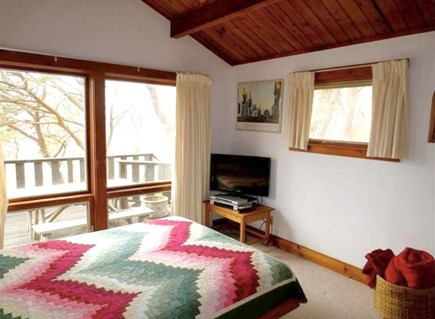 Wellfleet, Lieutenant Island Cape Cod vacation rental - Bedroom with Queen and TV