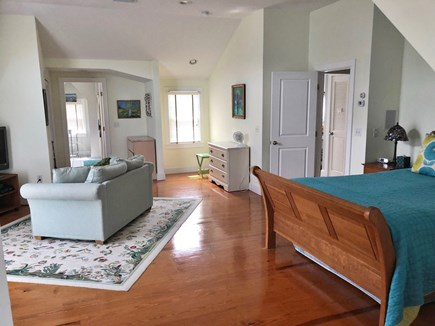 Eastham Cape Cod vacation rental - Master Suite (2nd floor) with private upper deck