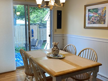 Yarmouth, Seagull Beach Awaits You! Cape Cod vacation rental - Dining Room Table