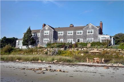 Wareham - Little Harbor - No S MA vacation rental - View of this magnificent home from the beach
