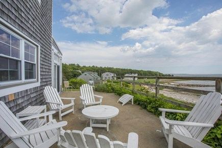 Wareham - Little Harbor - No S MA vacation rental - Relax on the deck overlooking the beach.