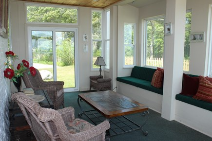 Wareham - Little Harbor - No S MA vacation rental - We also have 2 enclosed porches.