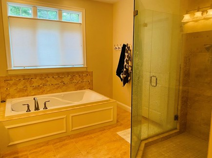 Mashpee Cape Cod vacation rental - Master Bathroom