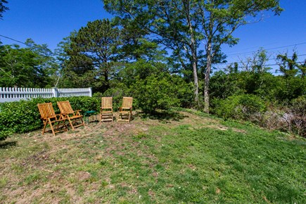 Truro Cape Cod vacation rental - Seating area for a post beach snack and drink!