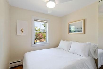 Truro Cape Cod vacation rental - Light airy full-size bedroom. Room has fan + AC