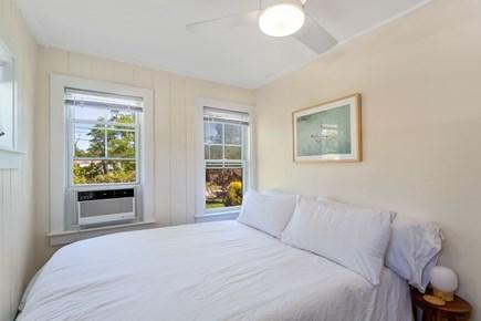 Truro Cape Cod vacation rental - Light airy queen-size bedroom. Room has fan + AC