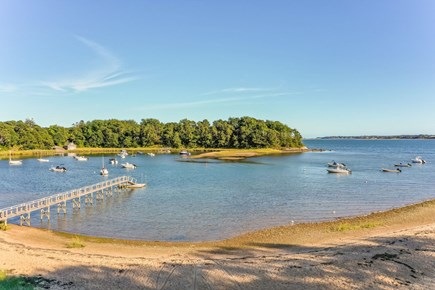 Orleans Cape Cod vacation rental - Neighborhood Beach and Dock with Pleasant Bay beyond
