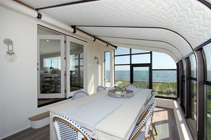 Hyannis Cape Cod vacation rental - Dining Area on Porch