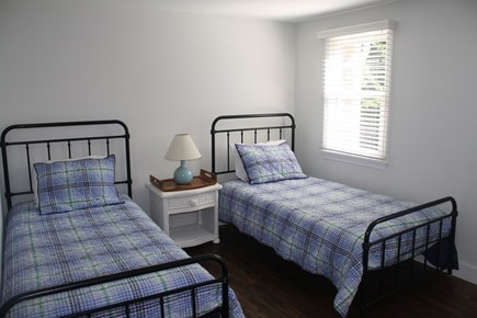 West Hyannisport Cape Cod vacation rental - Bedroom with 2 twin beds, dresser, and closet