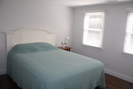 West Hyannisport Cape Cod vacation rental - Bedroom with queen bed, dresser, and large closet!