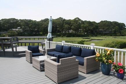 West Hyannisport Cape Cod vacation rental - Deck