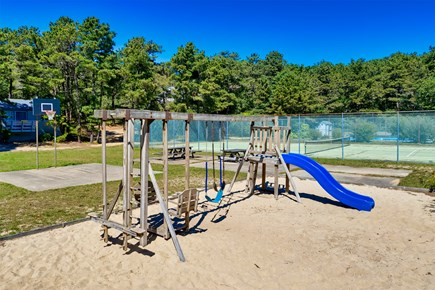 Truro Cape Cod vacation rental - Play ground and tennis courts