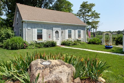 Sandwich Cape Cod vacation rental - Swan Cottage named after the swans from Shawme Pond