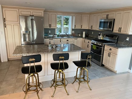 Bourne Cape Cod vacation rental - Open kitchen with center island