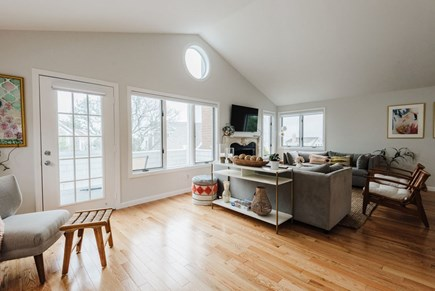 Brewster Cape Cod vacation rental - It just feels like a beach house.