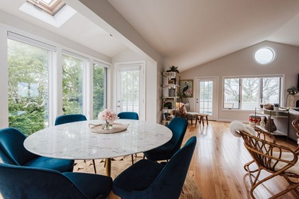 Brewster Cape Cod vacation rental - Dine with a water view