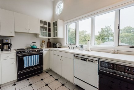 Brewster Cape Cod vacation rental - Fully equipped kitchen is light, bright and cheery.