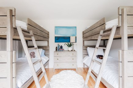 Brewster Cape Cod vacation rental - Bunk room sleeps four, lower level.