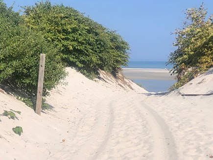 Dennis Cape Cod vacation rental - Path to Private Beach