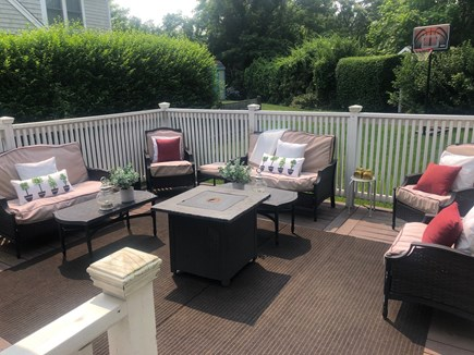Dennis Cape Cod vacation rental - Large Deck with Ample Seating