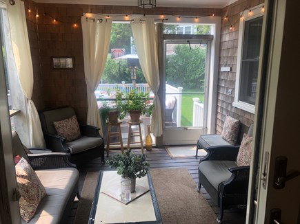 Dennis Cape Cod vacation rental - Screened in Porch