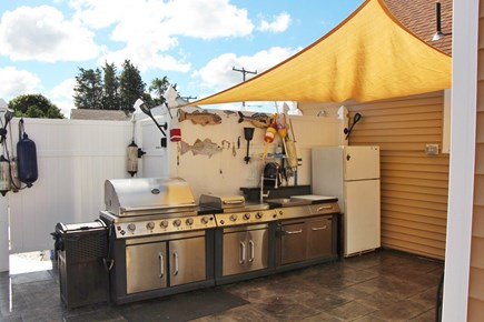 Bourne Cape Cod vacation rental - Newly added outdoor kitchen