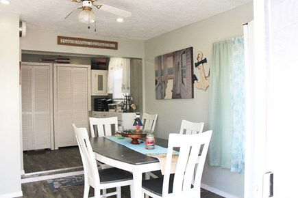 Bourne Cape Cod vacation rental - Indoor dining is also an option