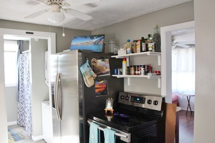 Bourne Cape Cod vacation rental - Kitchen is well-equipped and well stocked