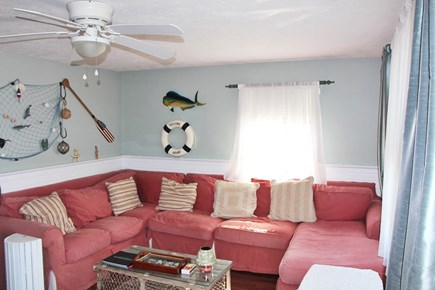 Bourne Cape Cod vacation rental - Cozy living room